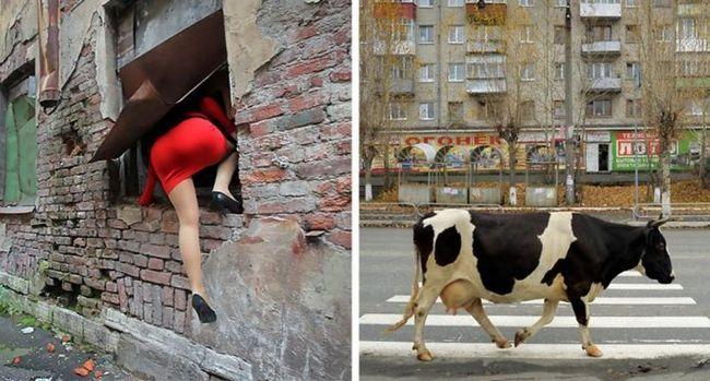 10 Чесних фото про російського життя, які не надрукують на листівках