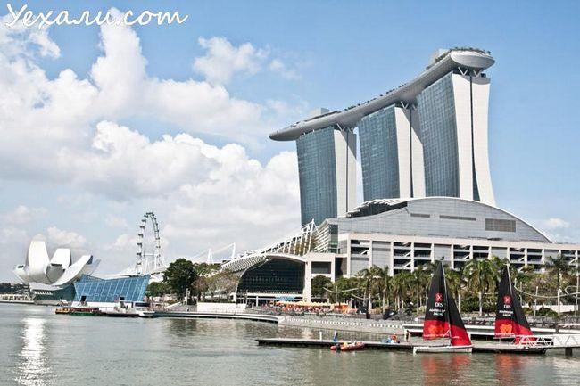 Сінгапур, заливши Марина Бей.
