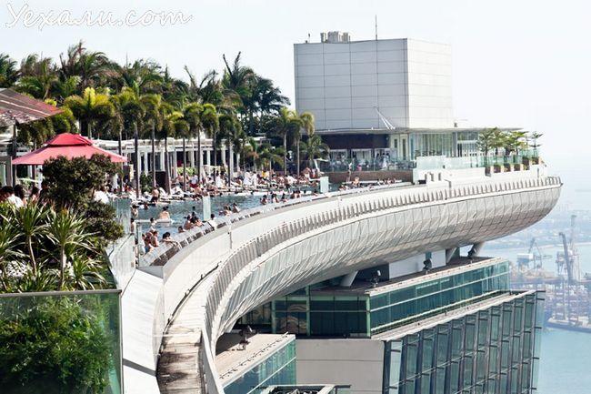 Сінгапур, готель Marina Bay Sands.