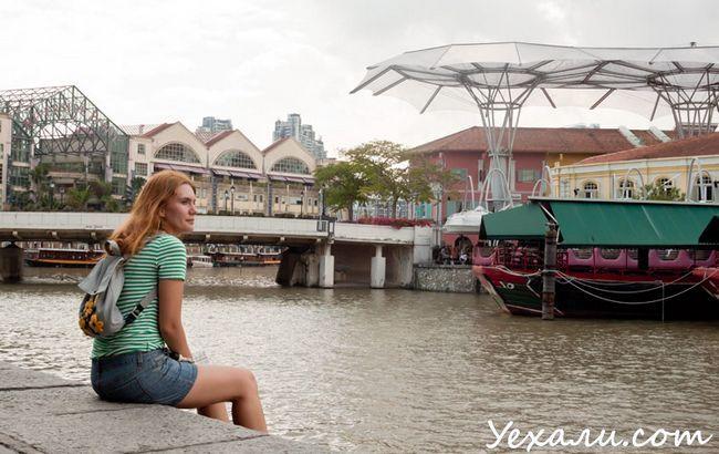 Сінгапур, фото Clarke Quay.