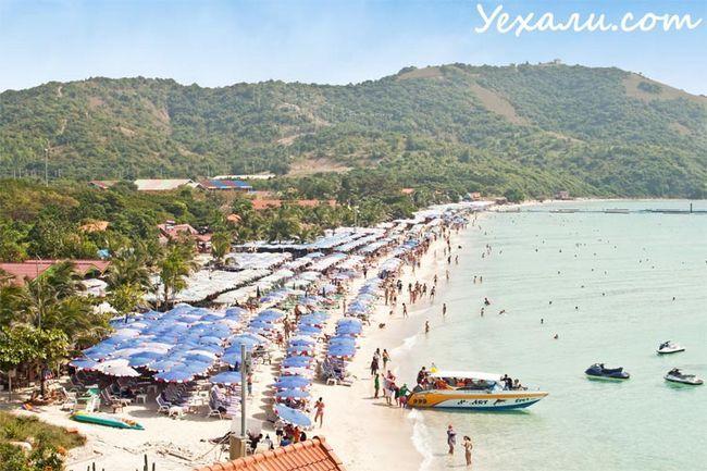 Фото Таїланду, пляж на острові