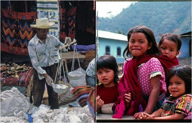 20 Колоритних фотографій з повсякденного життя гватемали в 1970-і роки