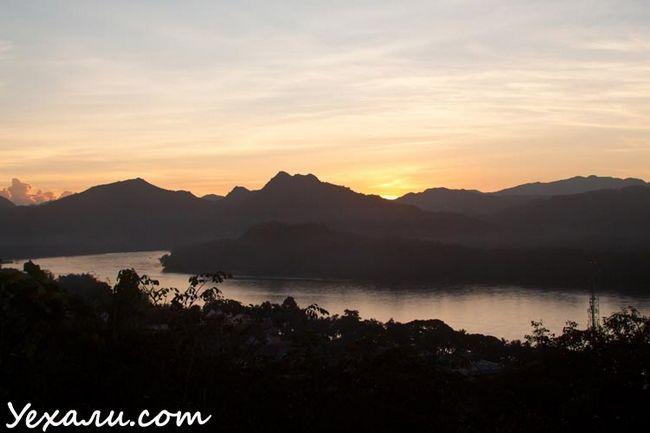 Пам`ятки Луанг Прабанг: фото з гори Пхусі