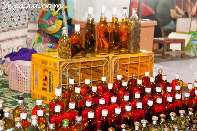 Пам`ятки Луанг Прабанг: нічний ринок