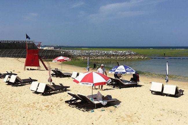 Кращі пляжі Окінави: Сансет Біч.