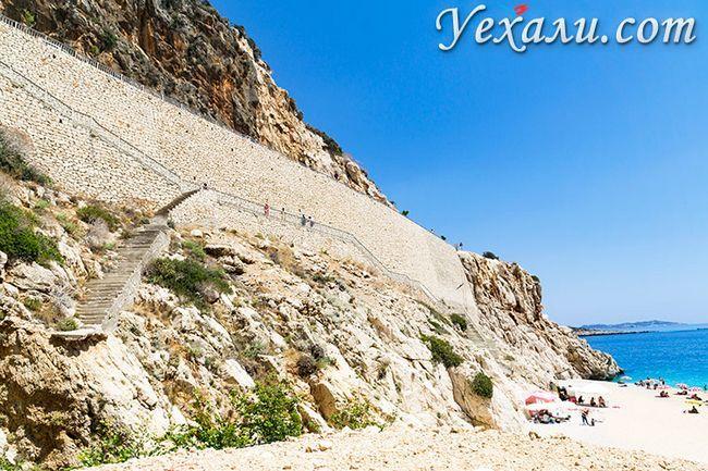 Пляж Капуташ, Туреччина, фото.