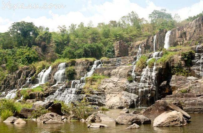 Водоспади Далата: Понгур