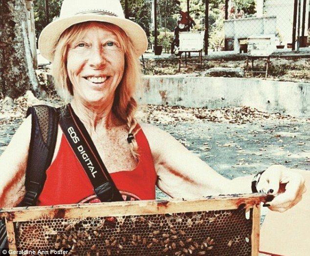 72-річна бабуся пропалює пенсію, подорожуючи по світу на протязі останніх 7 років