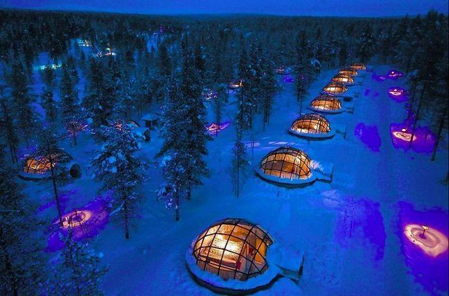 8 Самих дивних льодових готелів світу