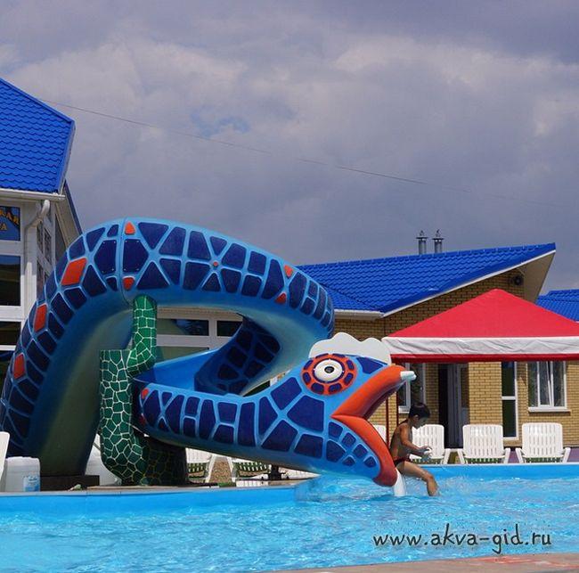 Аквапарк «жасмин» в томську.