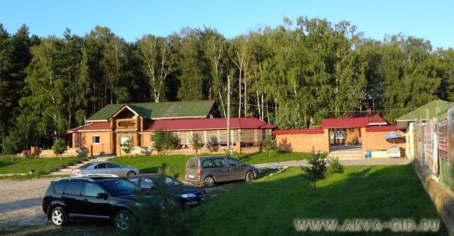 База відпочинку «любляна» з аквапарком в егорьевське.