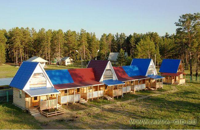 Аквапарк на базі відпочинку «сніжинка» в алтайському краї.