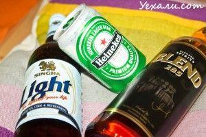 Алкоголь в Таїланді: пиво і віскі