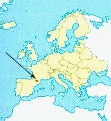 Андорра на карті