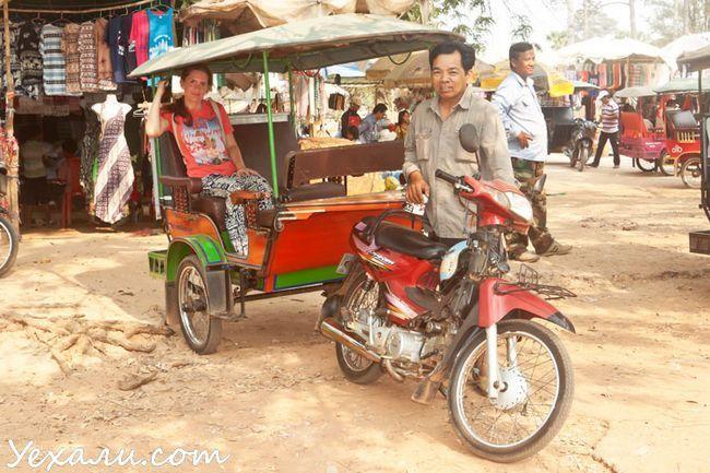 Ціни в Камбоджі на оренду транспорту