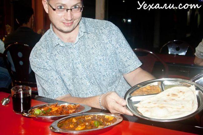 Ціни в Малайзії на їжу: індійська кухня в Куала-Лумпурі