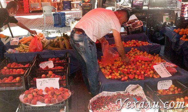 Ціни на їжу та продукти в Махмутларе, Туреччина.