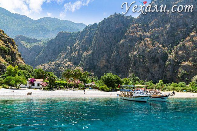 Пляжі Олюденіза (Туреччина): Долина Метеликів, Фетхіє.