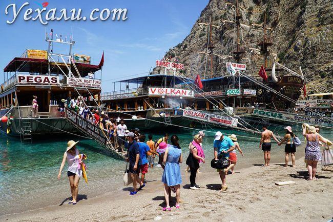 Обстановка в Туреччині для туристів сьогодні: Олюденіз, Долина Метеликів