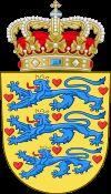 Герб Данії