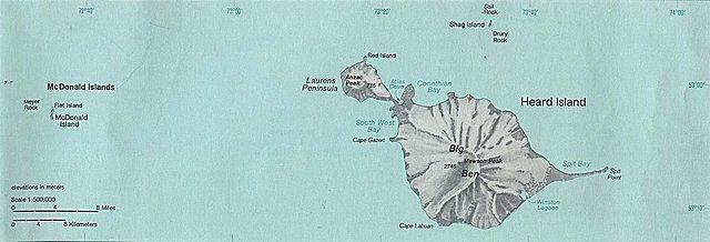 Острів херд і острови макдональд