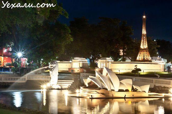 Куди піти ввечері в Паттайя - парк мініатюр Міні Сіам
