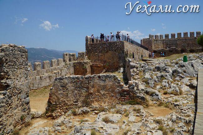 Оглядовий майданчик у фортеці Аланії