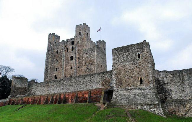 Пам`ятки Англії: Замок Рочестер