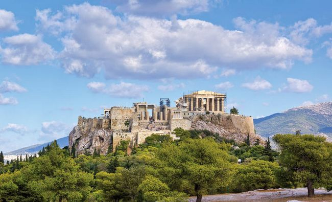 Визначні пам`ятки Греції