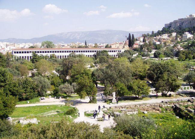 Пам`ятки в Греції: Агора