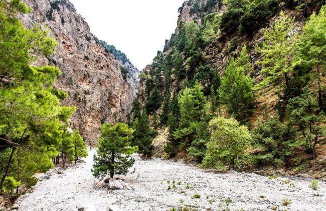 ущелина Самарь