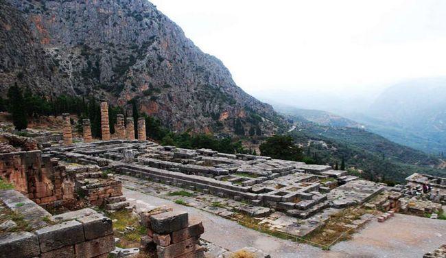 Храм в Дельфах