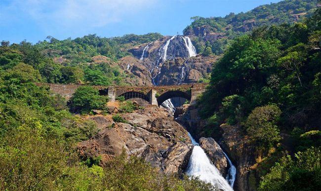 Що можна побачити в Індії: водоспад