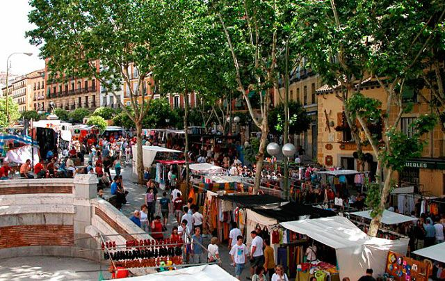 Пам`ятки Мадрида: ринок