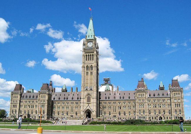Пам`ятки Канади: Парламентський пагорб