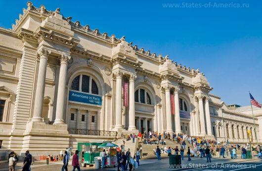 Музей метрополітен в нью-йорку