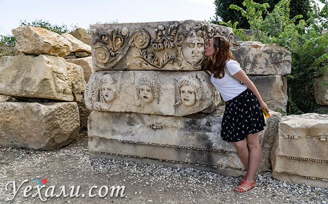 Стародавнє місто Демре Миру в Туреччині.