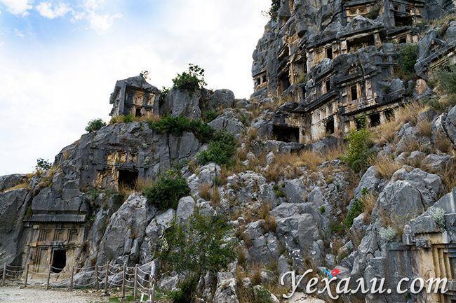 Міри гробниці в Світі, Туреччина.