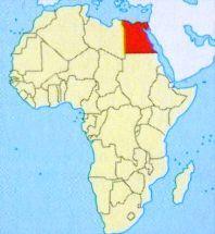 Єгипет на карті