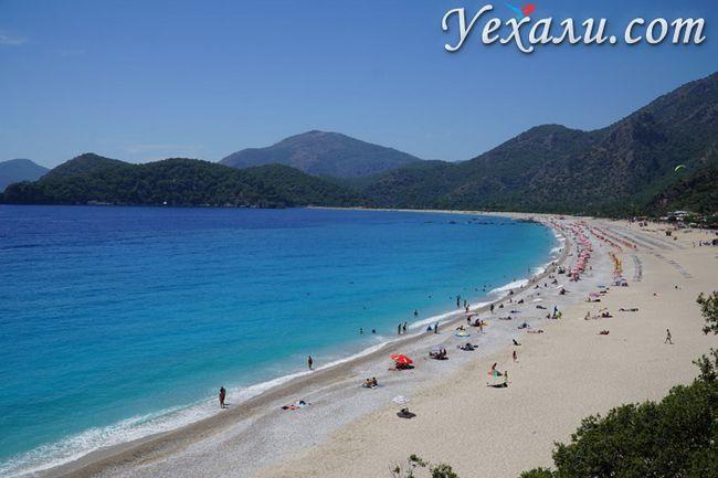 пляж Олюденіза