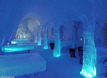 Фінляндія: в кемі побудують сніговий замок, а туристів привезуть туди на олоколо