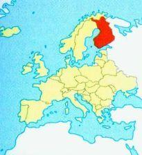 Фінляндія на карті