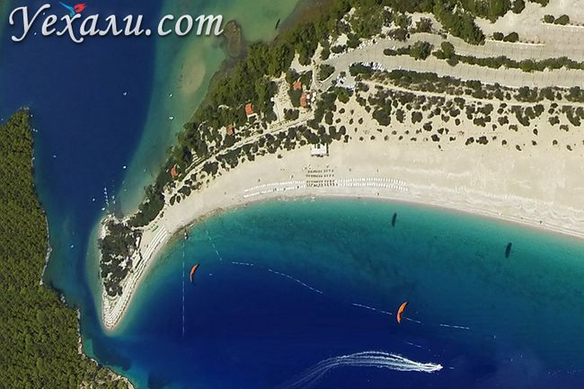 Кращі пляжі Туреччини: Блакитна Лагуна Олюденіз.
