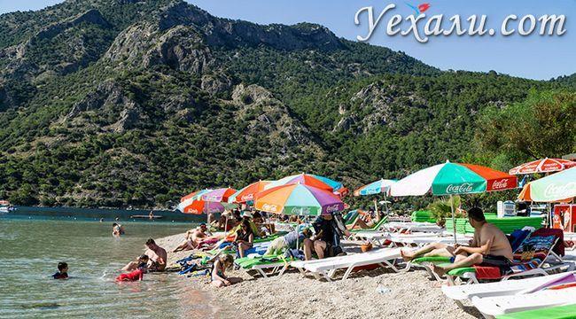 Кращі пляжі Олюденіза: Блакитна Лагуна.