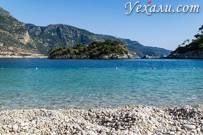 Кращі пляжі Туреччини: Блакитна Лагуна, Олюденіз.