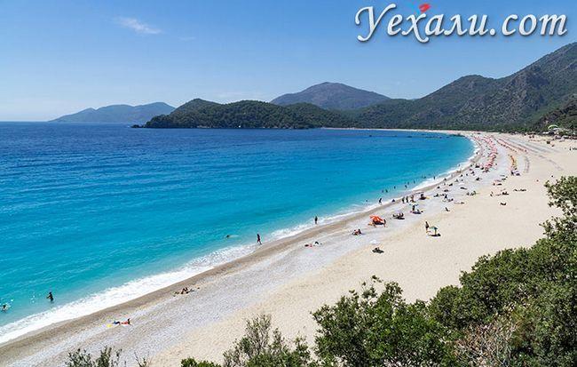 Найкращі пляжі Туреччини: Олюденіз.