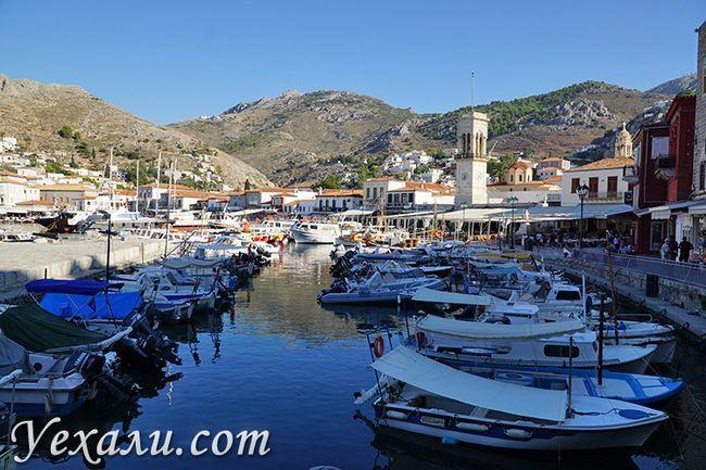 Фото острова Гідра в Греції