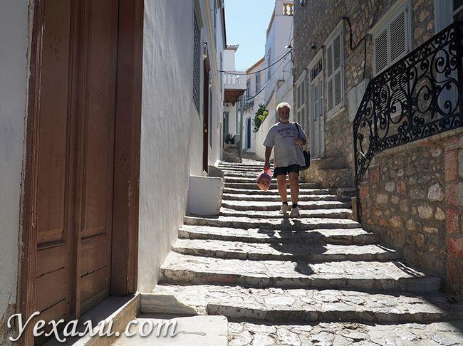 Фото острова Ідра в Греції