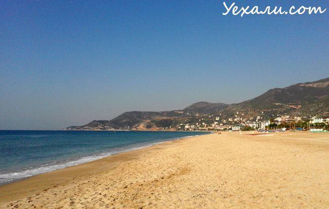 Фото Аланії, Туреччина: пляж Клеопатри