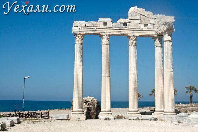 Пам`ятки Сіде, Туреччина: Храм Аполлона.